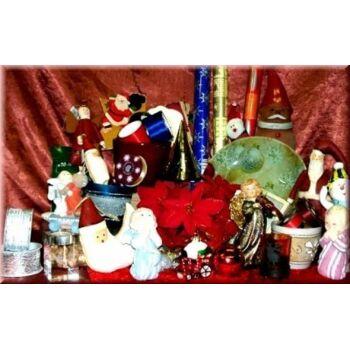 01-52116, Grosses Weihnachtsartikel Sortiment ALLES NEUWARE