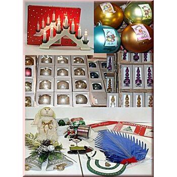 01-71150, Weihnachtsmarkt Sortiment, Deko, Licht, Figuren, Ketten usw, Weihnachtsware, Weihnachtsdeko ALLES NEUWARE