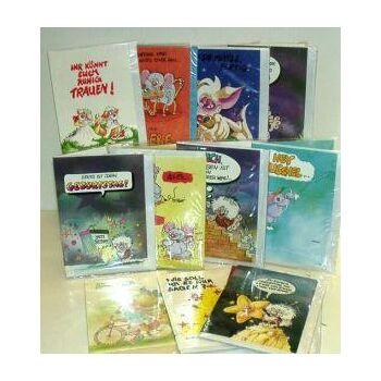 01-78901, Glückwunschkarten, Geschenkkarten Sortiment - ALLES NEUWARE