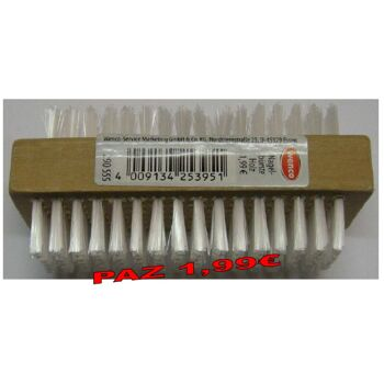 12-290555, WENCO Nagelbürste Holz, doppelseitig, Handwaschbürste PAZ 1,99