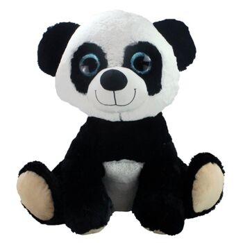 27-31414, Plüsch Pandabär sitzend 60 cm, Kuscheltier, Spieltier, Zootier, Wildtier, Waldtier
