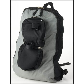 28-725369, Satteltasche 2 in 1, Fahrradtasche und Rucksack zugleich