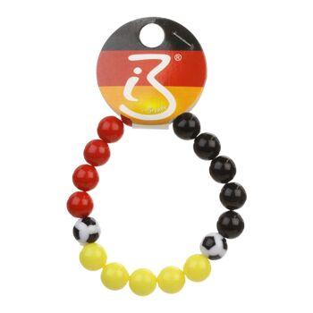 17-80161, Armband mit Fussball Deutschland