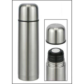 28-26008, Isolierkanne Edelstahl 0,75 Liter, Thermoskanne