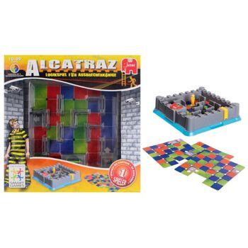 27-50648, JUMBO Spiel Smartgames Alcatraz Logikspiel, Gesellschaftsspiel, Gesellschaftspiel
