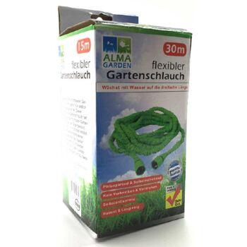 12-90494, Flexibler Gartenschlauch 30m grün