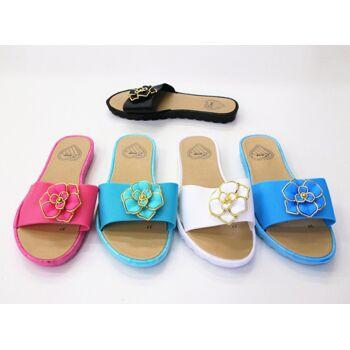 Damen Woman Sandalen Sandaletten Mix Slipper Sommer Schuh nur 3,20 Euro