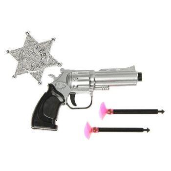 27-60289, Pistole mit 2 Pfeilen und Sheriffstern