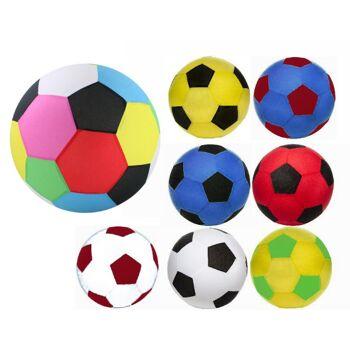 27-71401, RIESENBALL 50 cm, Fussball, Wasserball, Beachball, Spielball, Aufblasball