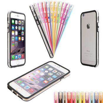 Bumper TPU Samsung / Apple Schutz Hülle Silikon Cover Case Schale Handy Tasche