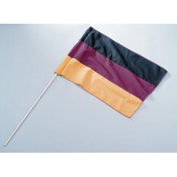 27-88009600, Deutschlandfahne 30 x 45 cm, am Stab, Deutschlandflagge Party, Event, Fanmile, usw
