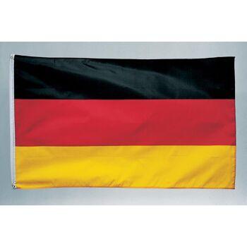 27-88010000, Deutschlandflagge 90 x 150 cm, Deutschlandfahne, Party, Event, Fanmile, usw