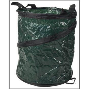 28-951140, Pop-Up Gartenabfallsack 30 Liter Pop-Up Springsack Aufstell Gartentasche, Laubsack, usw