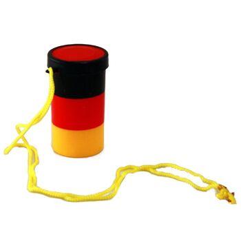 27-43013, Laute Deutschland Tonnentröte Partyhorn, Partytröte, Party, Event, Stadion Publicviewing Fanmile, usw