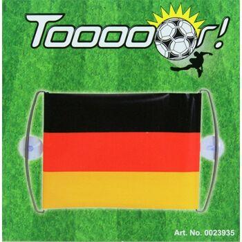 27-43334, TOOOOR Deutschland Banner 68 x 24 cm Party, Event, Stadion Publicviewing Fanmile, usw++++++++