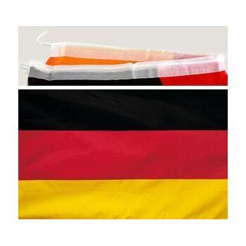 27-11316, Deutschlandfahne 60 x 90 cm BRD Farben Party, Event, Stadion Publicviewing Fanmile, usw