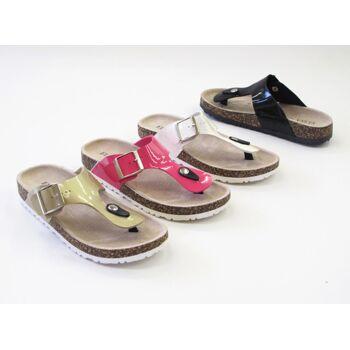Damen Woman Sandalen Sandaletten Slipper Sommer Schuh nur 6,45 Euro