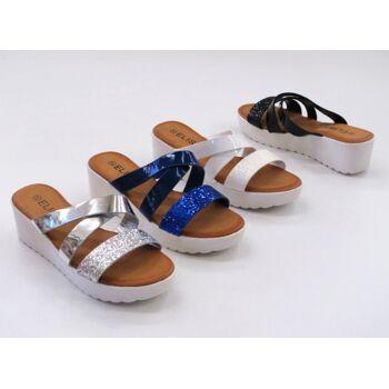 Damen Woman Sandalen Sandaletten Slipper Sommer Schuh nur 7,75 Euro
