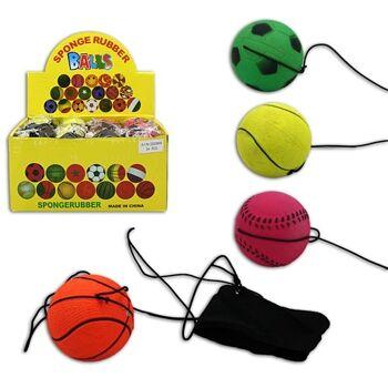27-43531, Returnball im Sportballdesign mit Handmanschette