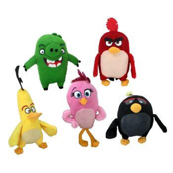 27-27569, Plüsch Angry Birds Movie 27 cm, Spieltier, Kuscheltier, Plüschtier