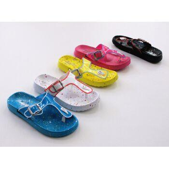 Damen Woman Sandalen Sandaletten Mix Slipper Sommer Schuh nur 3,85 Euro