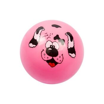 21.8752, PVC Fussball 23 cm, mit Tiergesichtern, Fußball, Beachball, Spielball, Fussball, Wasserball, Aufblasball