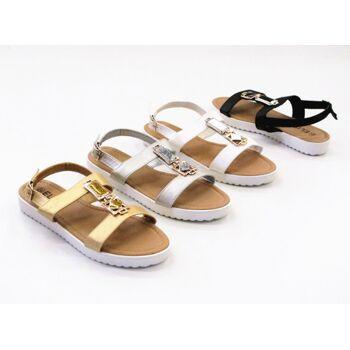 Damen Woman Sandalen Sandaletten Slipper Schuhe Sommer nur 7,75 Euro
