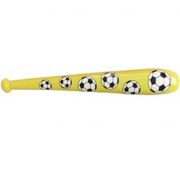 10-583210, Aufblaskeule Fussball 105 cm, Baseballschläger, Aufblasbare Keule