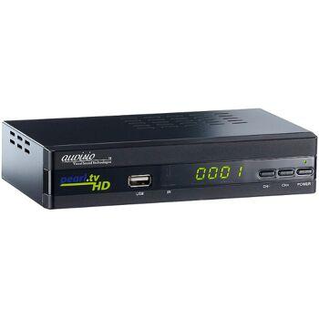 auvisio Digitaler pearl.tv Full-HD-Sat-Receiver DSR-395U.SE, HDMI & Scart