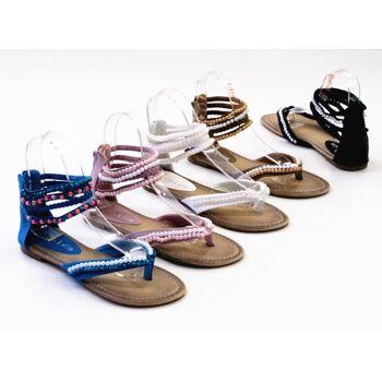 Damen Woman Sandalen Sandaletten Slipper Schuhe Sommer nur 7,90 Euro