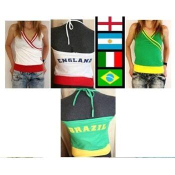 SALE !!!! Tolle Fantops - England - Brasilien -Italien und Argentinien