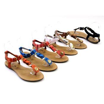 Damen Woman Sandalen Sandaletten Slipper Schuhe Sommer nur 6,90 Euro