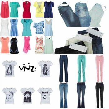 Marken Bekleidung Mix Starter Paket - Vero Moda, Vinizi, Tom Tailor, S.Oliver, Tamaris, Versandhaus