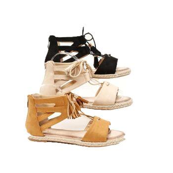 Damen Woman Sandalen Sandaletten Slipper Schuhe Sommer nur 11,49 Euro