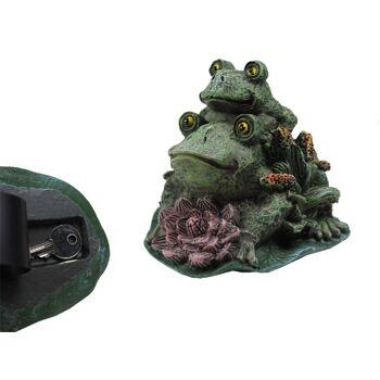 Schlüsselversteck Geheimversteck Geheimfach Schlüssel als Frosch Dekoration