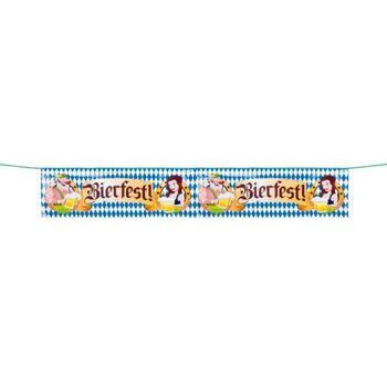 27-44232, Banner 'Bierfest!' 175 cm, Oktoberfest