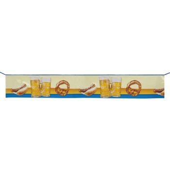 27-44277, Banner - 'Beer Fun' Oktoberfest 175 cm
