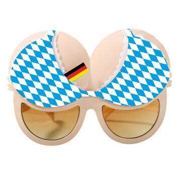 27-46958, Brille - Oktoberfest -Brust Sonnenbrille