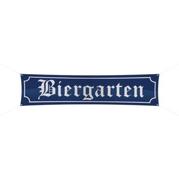 27-52032, grosser Banner Biergarten Oktoberfest, PArty, Event, usw, Straßenbanner