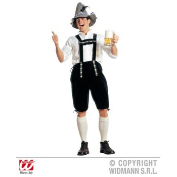 27-55201 , Kostüm Lederhose Bayern Oktoberfest Größe M