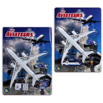 27-43501, Flugzeug Spierlset mit Antrieb