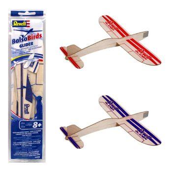 27-83041, Revell Control Glider, Holz Flugzeug