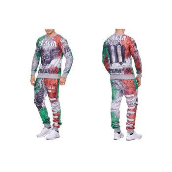 Herren Jogging Anzug Sportanzug Trainingsanzug Trainingsjacke Jogginganzug nur 12,90 Euro
