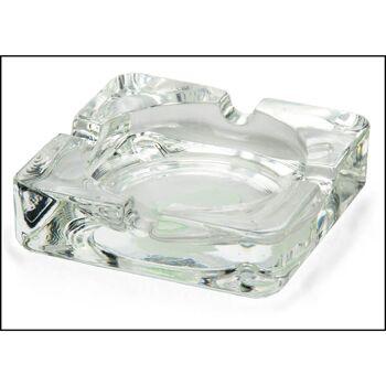 28-511134, Glas Aschenbecher 10x10 cm