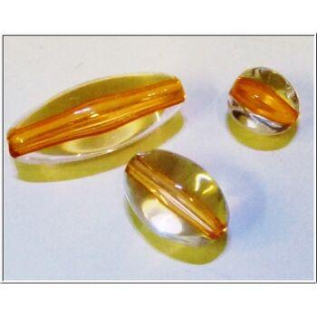 01-po124, Acryl Perlen Katzenaugenlook, ideal für Bastelarbeiten, Deko oder Schmuckherstellung