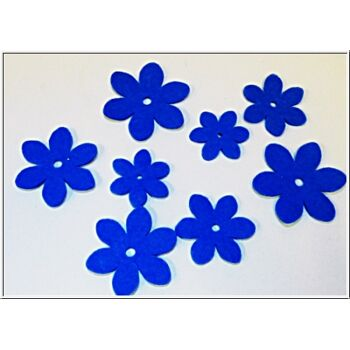 01-po131, Flizblüten toller Dekoartikel oder auch zum basteln
