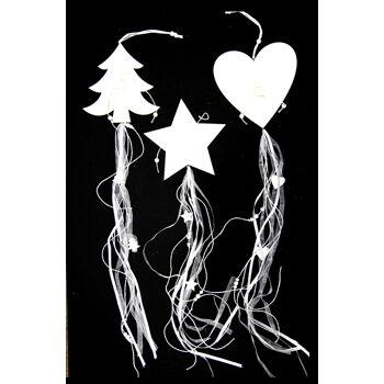 17-28475, Holz Weihnachts Hänger 70 cm,