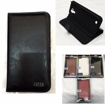 Samsung Galaxy S4 Handy Taschen Flip Cover Case Schutz Hülle Etui Schale in 4 verschiedenen Farben