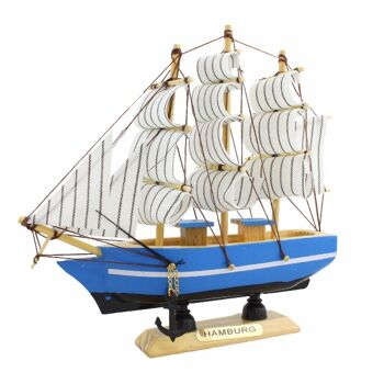 Segelschiff 15,5cm