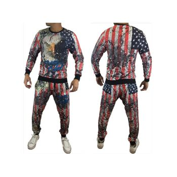Herren Jogging Anzug Sportanzug Trainingsanzug Trainingsjacke Jogginganzug nur 14,90 Euro